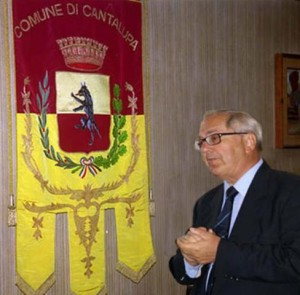 Il sindaco di Cantalupa Giustino Bello