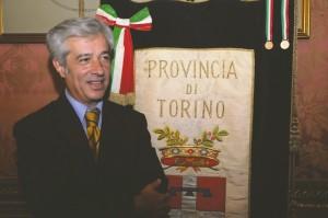 Il sindaco di Cavour Piergiorgio Bertone