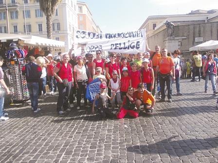 La Val Pellice a Roma per l'incontro con Papa Francesco