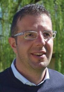 Il sindaco di Frossasco Federico Comba