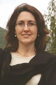 Il sindaco di Inverso Pinasca Cristina Orsello