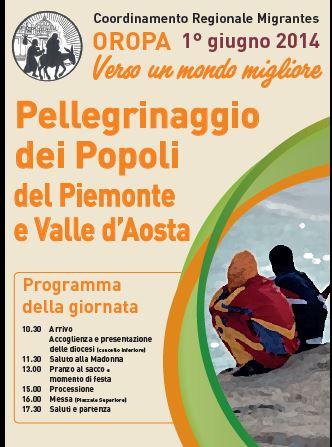 """Oropa. Il 1 giugno """"Pellegrinaggio dei Popoli del Piemonte e Valle d'Aosta"""""""