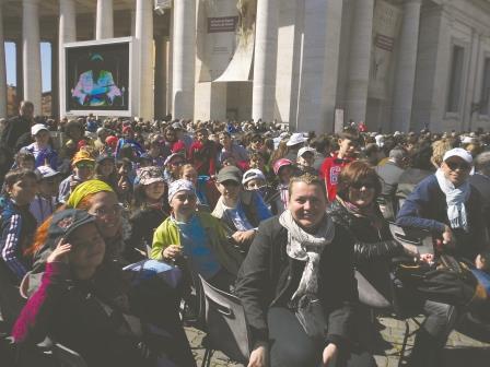 Per i bambini di Torre Pellice Il Papa è WOW