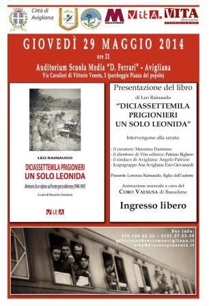 Presentazione del libro di Leo Rainaudo ad Avigliana