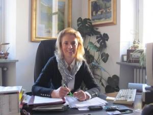 Il sindaco di San Pietro Val Lemina Anna Balangero