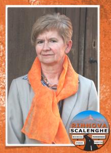 Il sindaco di Scalenghe Carla Peiretti