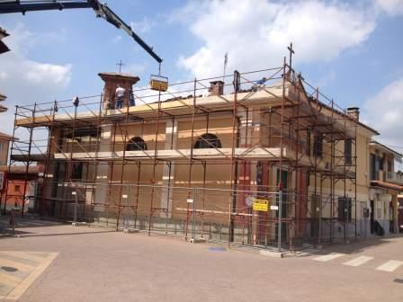 Avviati i lavori di recupero della cappella Sant'Anna di Cercenasco