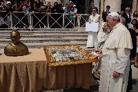 Due opere di Maurizio Rinaudo al Vaticano