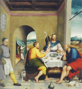 La cena di Emmaus - Jacopo da Bassano