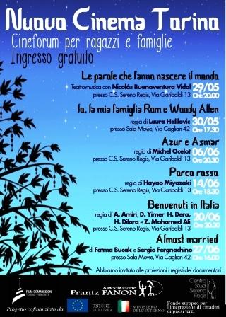 Cineforum gratuiti per ragazzi e famiglie al Centro Studi Regis di Torino