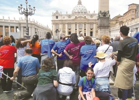 A Roma per dire sì alla vita