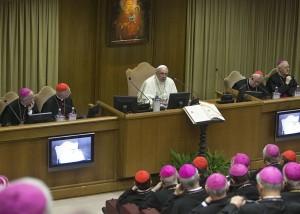 Papa Francesco alla CEI
