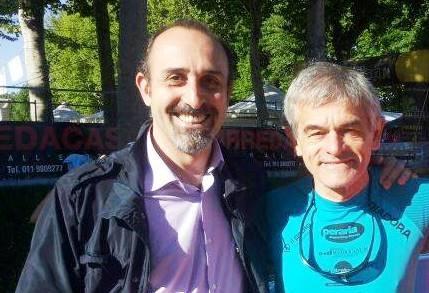 A sinistra Elvio Rostagno, a destra Sergio Chiamparino