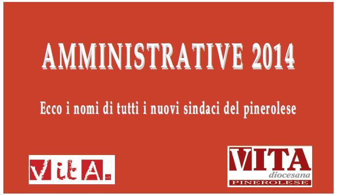 Amministrative 2014. Si sono conclusi tutti gli scrutini nei comuni del pinerolese