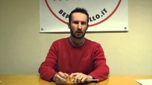 Federico Valetti, consigliere regionale per il M5S