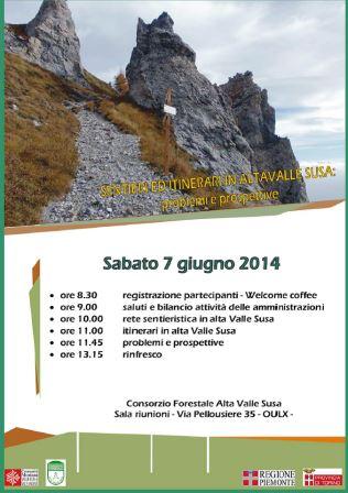 """A Oulx si parla di """"Sentieri ed itinerari in Alta Valle Susa: problemi e prospettive"""""""