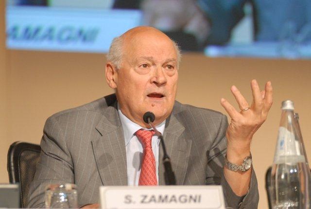 L'economista Stefano Zamagni al salone del libro