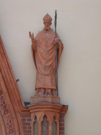 Donato, patrono di Frossasco e della Cattedrale