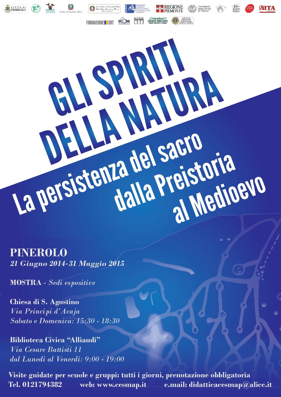 """Sabato 21 giugno l'inaugurazione della nuova mostra del CeSMAP """"Gli spiriti della natura"""""""