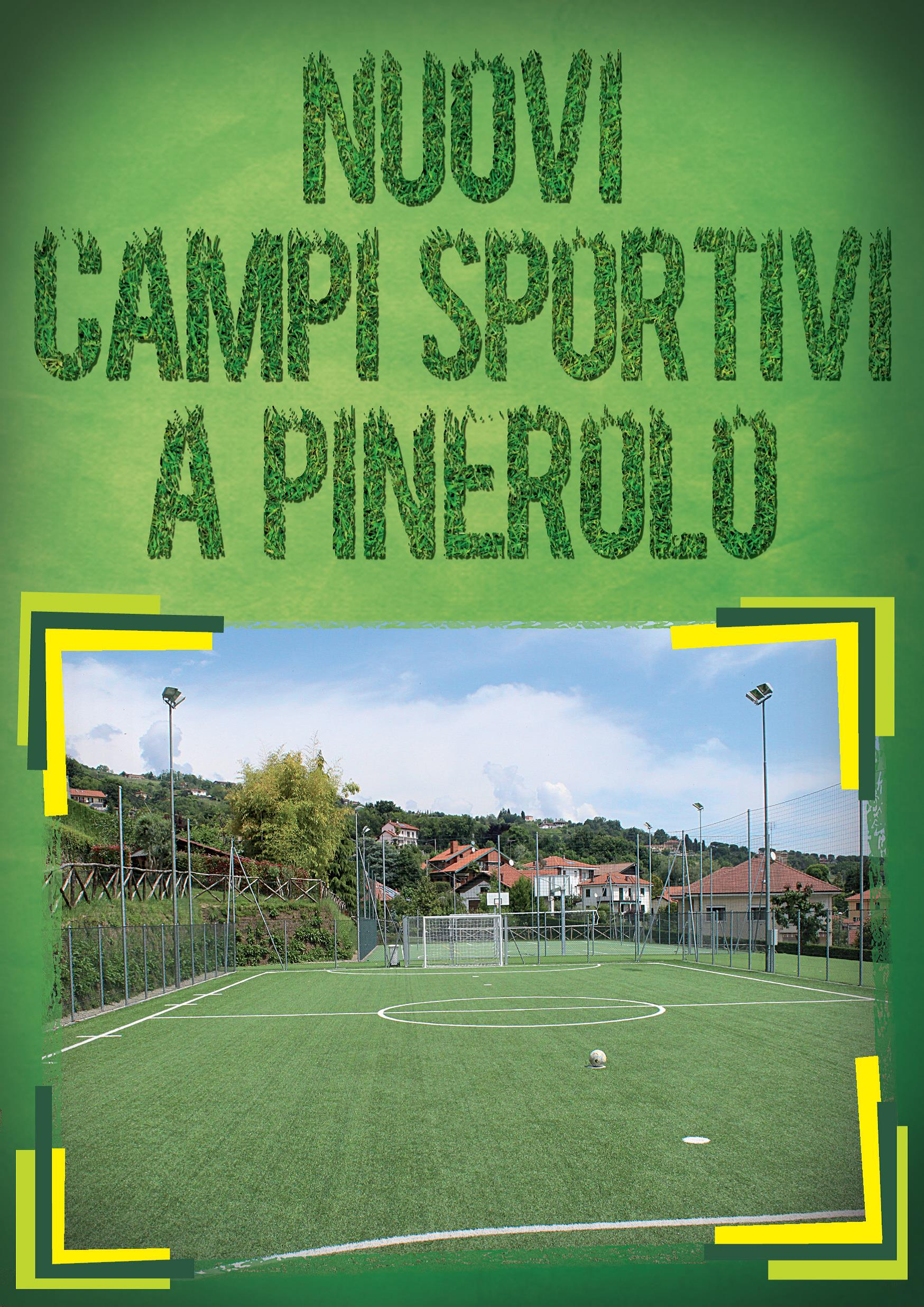 Pinerolo. Nuovi campi sportivi in città