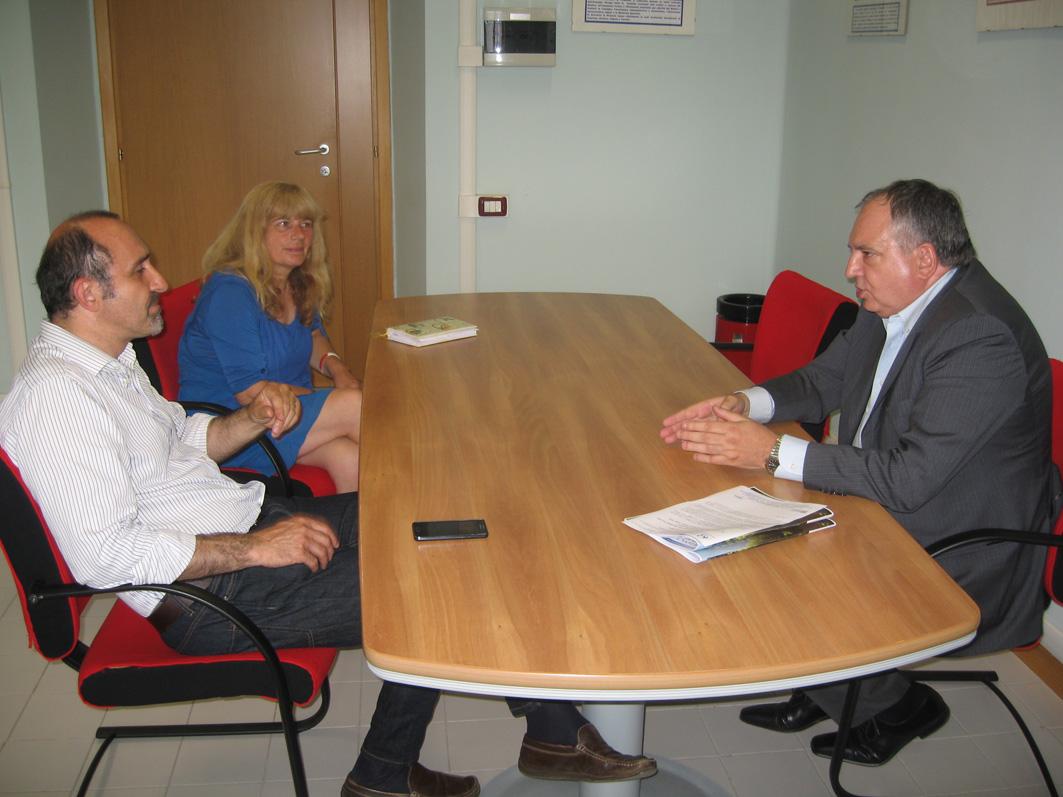 Il neo-consigliere regionale Rostagno ha incontrato il direttore generale dell'Asl to3