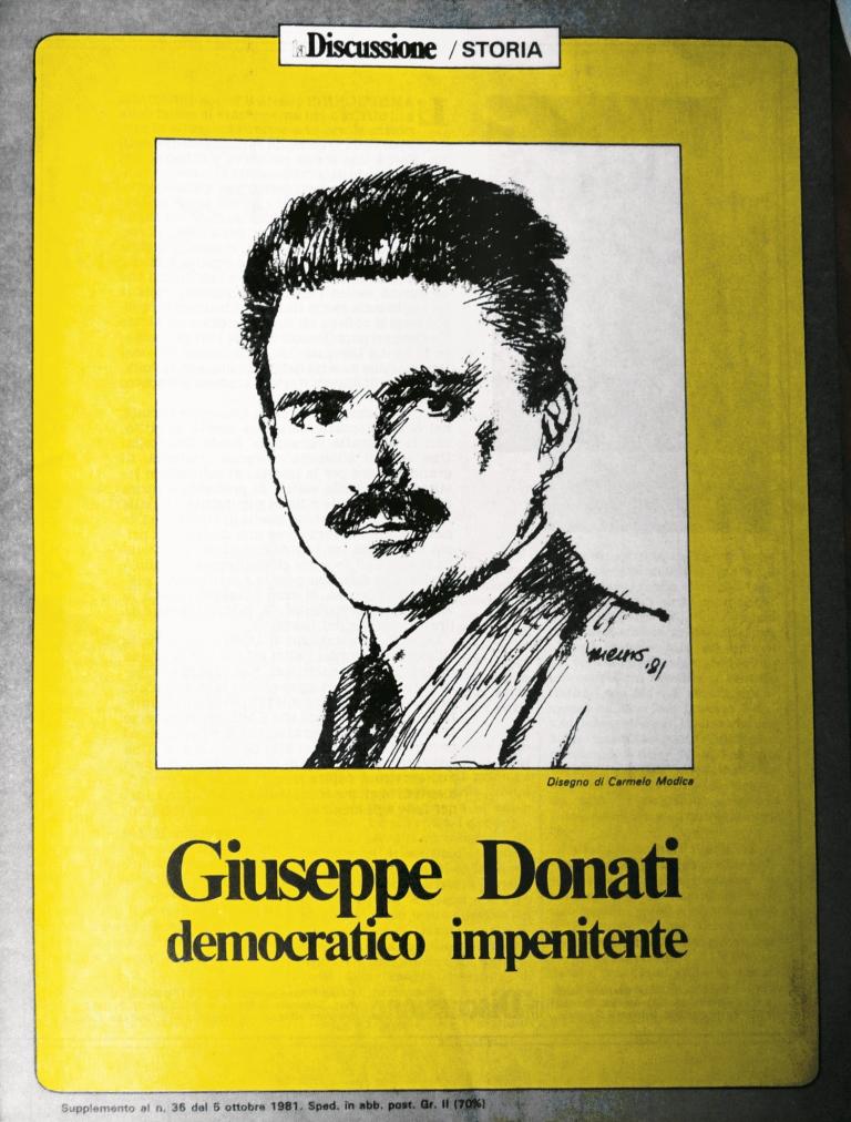 Giuseppe Donati, il democratico impenitente