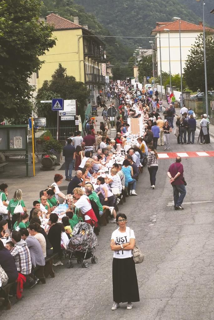 La Tavolata della Solidarietà entra nell'Albo dei Guinness