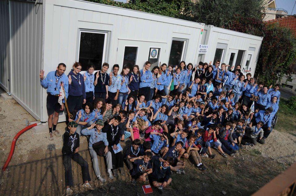 Gli scout di Pinerolo in cammino verso l'incontro nazionale di San Rossore