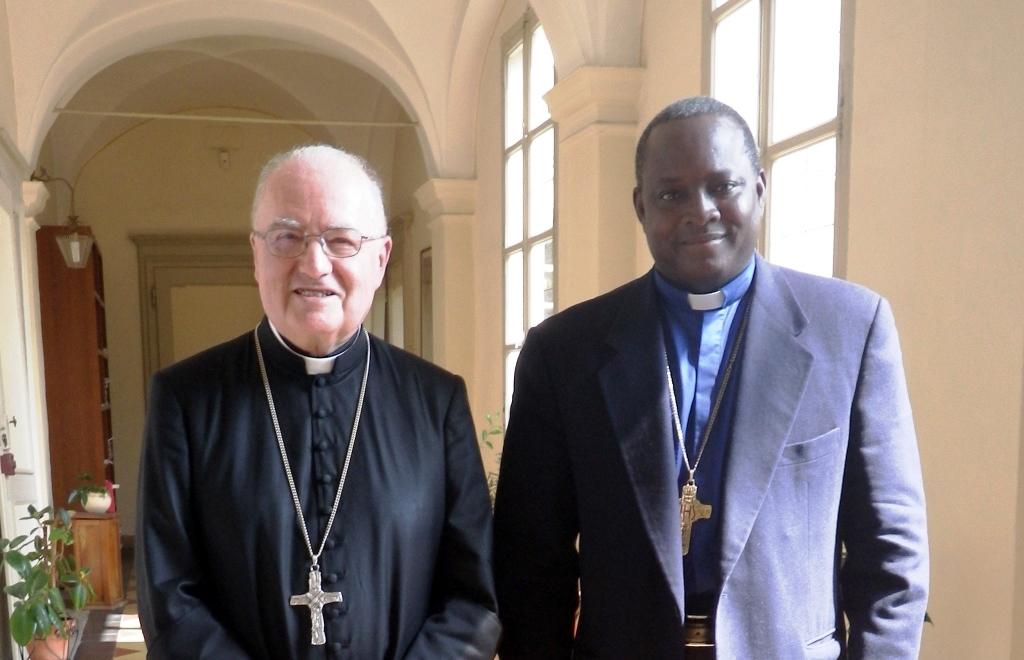 Incontro con il vescovo di Dorì (Burkina Faso), monsignor Laurent Dabirè