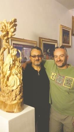 Pragelato. In una mostra le opere di don Mauro Roventi Beccari e Paolo Usseglio