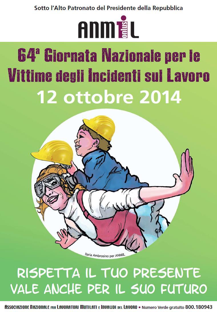 Torino. 64ᵃ Giornata Nazionale per le Vittime degli Incidenti sul Lavoro