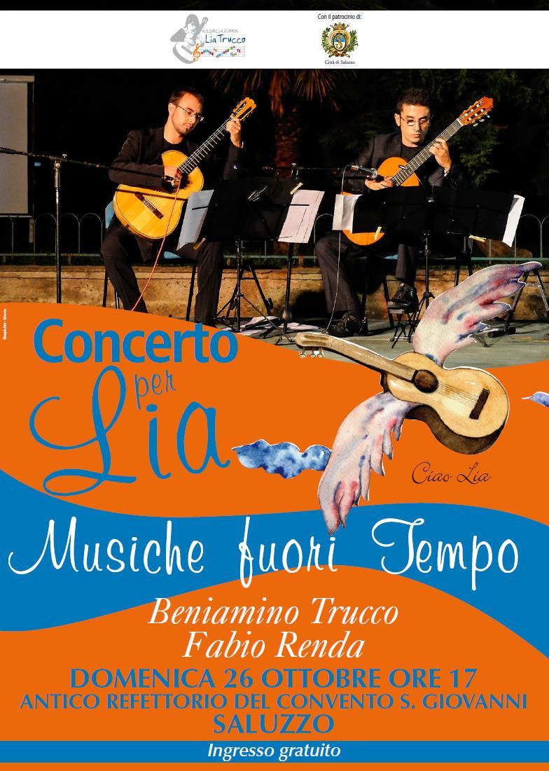 Saluzzo. Concerto per Lia Trucco