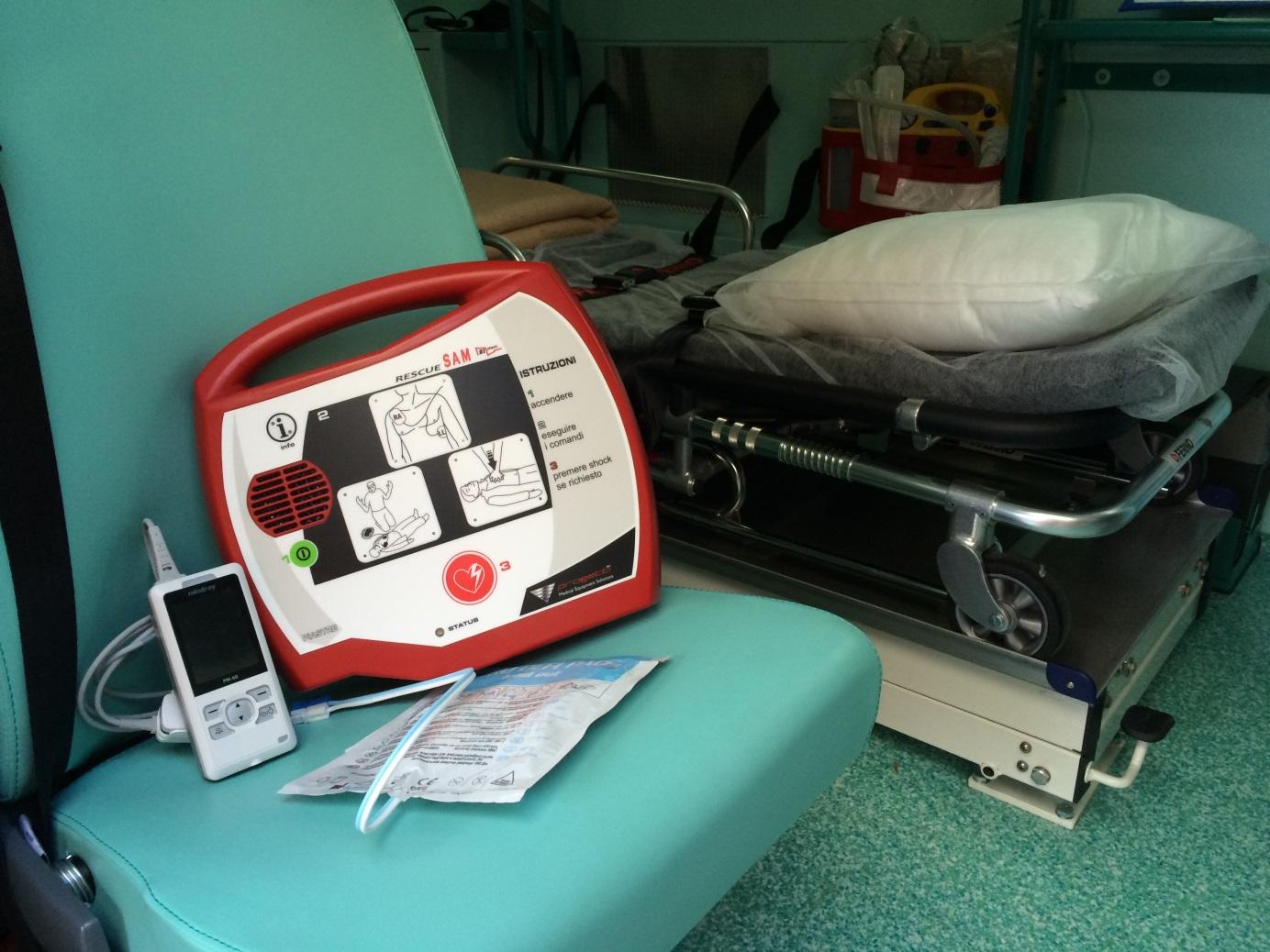 Consegnati dall'assessore Ferraris 19 defibrillatori ad altrettanti comuni del Piemonte