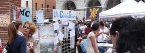 Uno scorcio degli stand presenti alla manifestazione