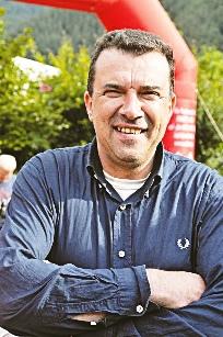 Il sindaco di Pomaretto Danilo Breusa