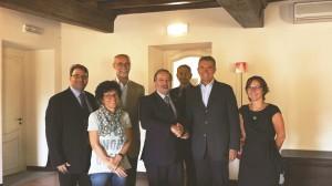 La firma dell'accordo di valorizzazione della Caserma Bochard è avvenuta lo scorso 22 settembre