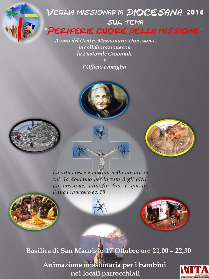 Venerdì 17 ottobre la veglia missionaria diocesana
