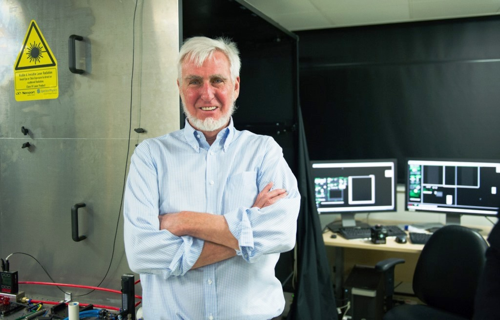 epa04434991 US Professor John O' Keefe at his laboratory in University College London after winning the Nobel Prize for Physiology or Medicine during a press conference in London, Britain, 06 October 2014. US citizen John O'Keefe and Norwegians May-Britt Moser and Edvard Moser won the 2014 Nobel Prize in Medicine for the discovery of nerve cells that constitute a positioning system in the brain.  EPA/FACUNDO ARRIZABALAGA