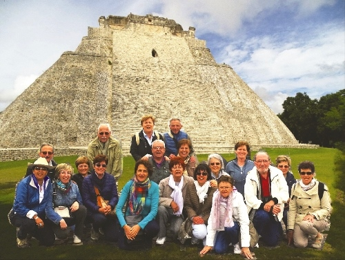 C.I.T.S.  Messico Gruppo dei partecipanti al Tour 9-19 ottobre 2014