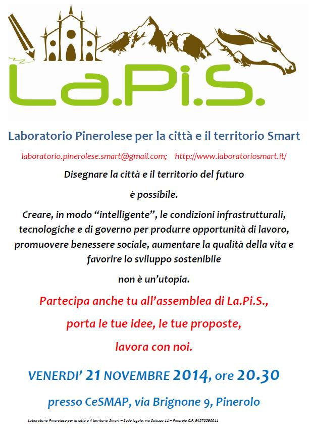 Assemblea LaPiS: un incontro per un futuro smart