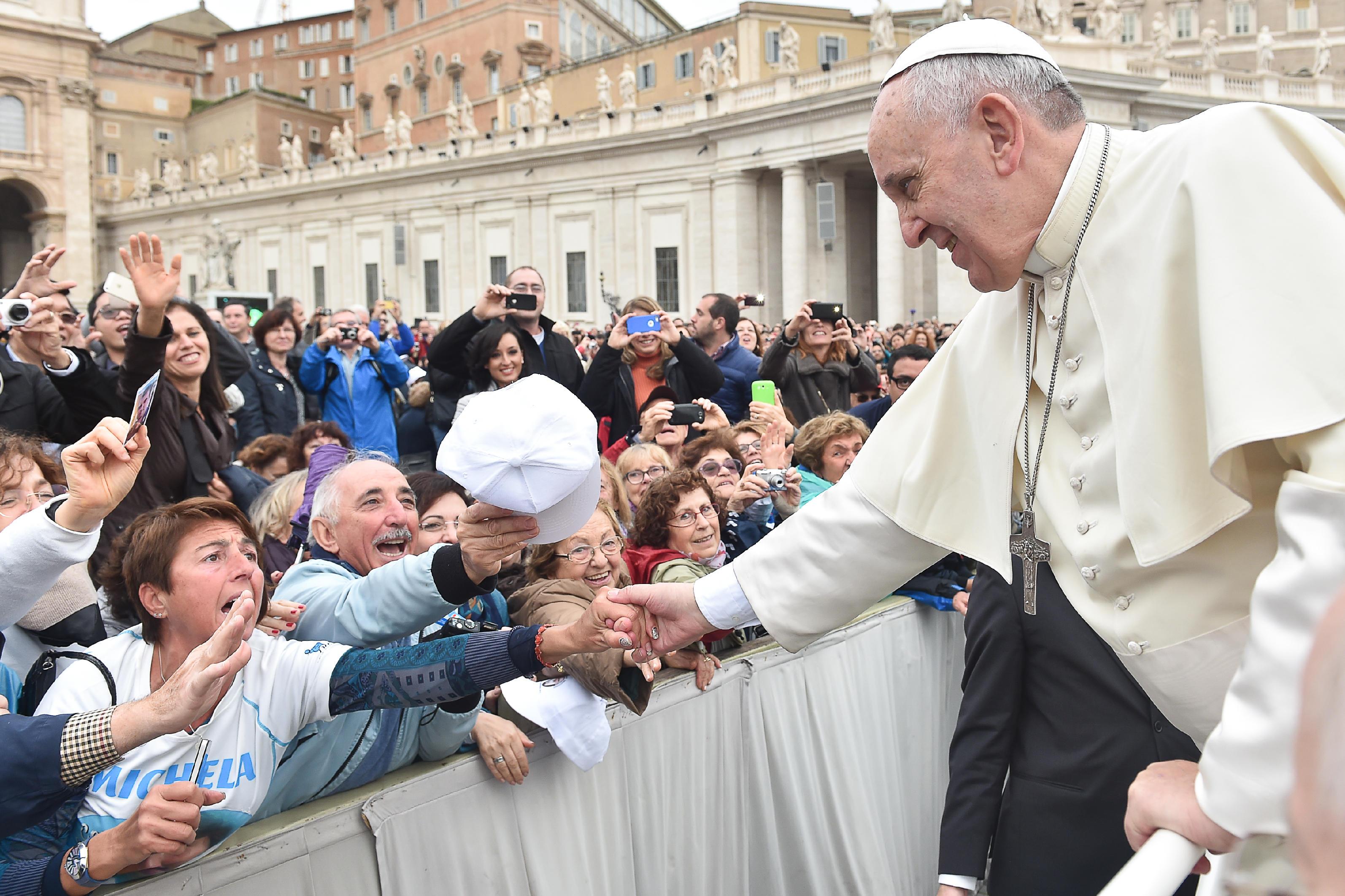 Incontrare papa Francesco