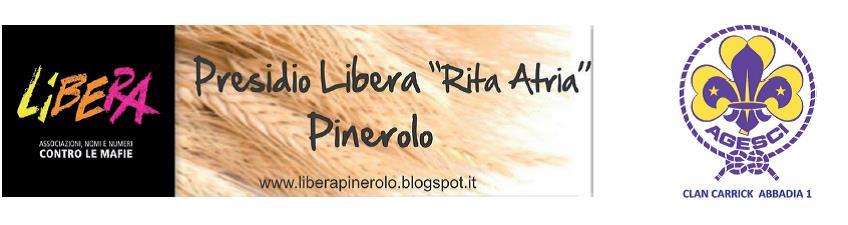 """Libera Pinerolo e gli scout di Abbadia 1 invitano a """"Un anno chiamato coraggio"""""""