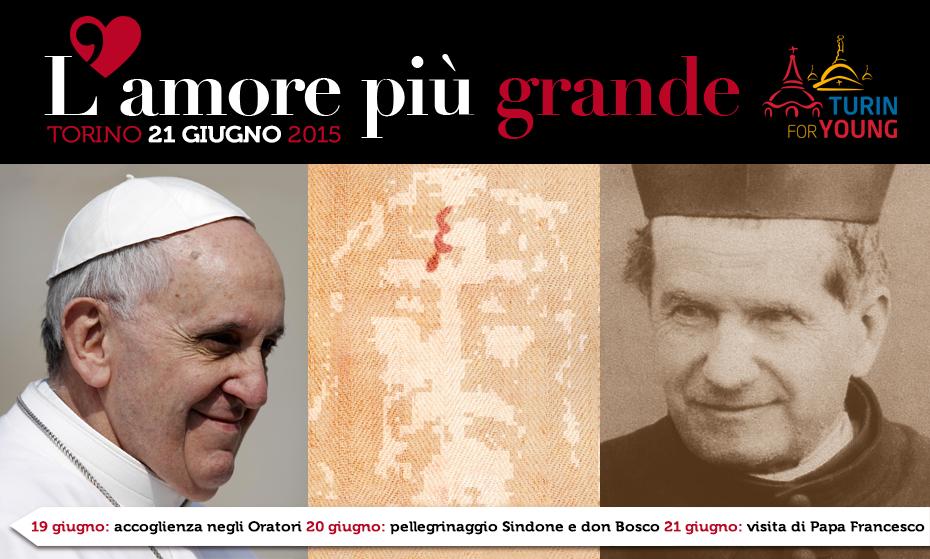 Papa Francesco sarà a Torino il 21 giugno del 2015