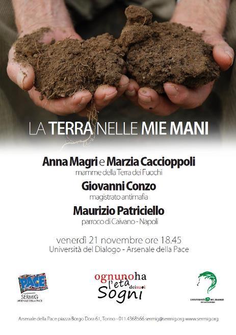 Torino. La Terra dei fuochi all'Università del dialogo