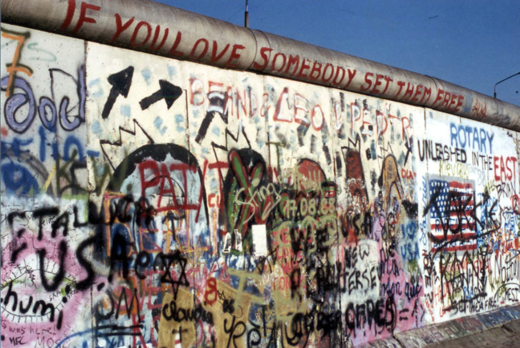 Da Torino a Berlino passando per il muro