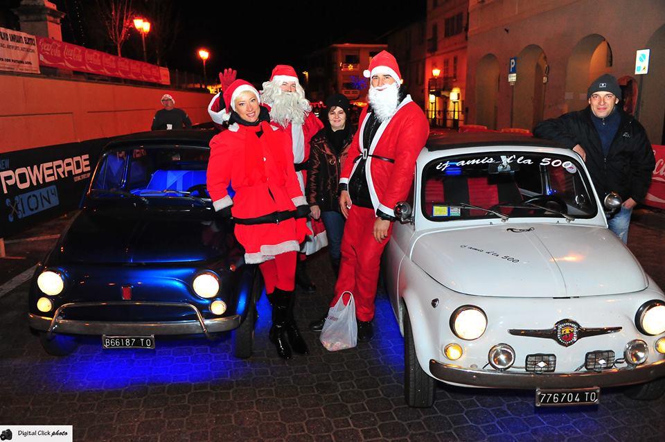 VII StraBricherasio con i Babbi Natale di corsa