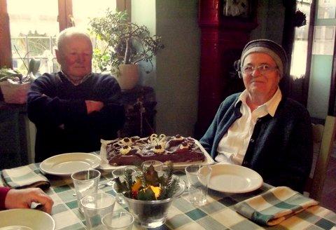 62 anni di matrimonio per i genitori di don Davide De Bortoli