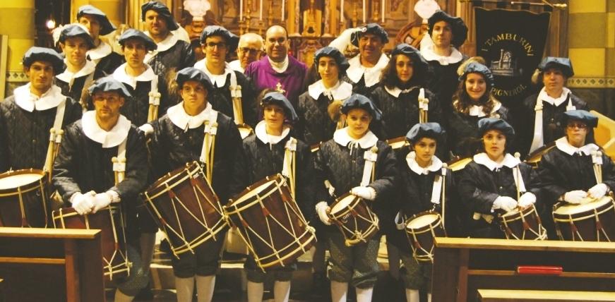 Pinerolo. Tamburini in festa per santa Cecilia