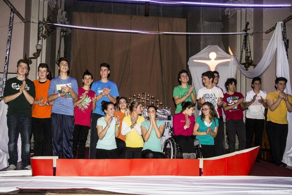 [ photogallery ] Il recital di Natale dei ragazzi di None