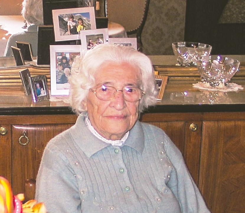 101° compleanno di Serafina Barale